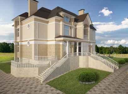 красивый дом фасад